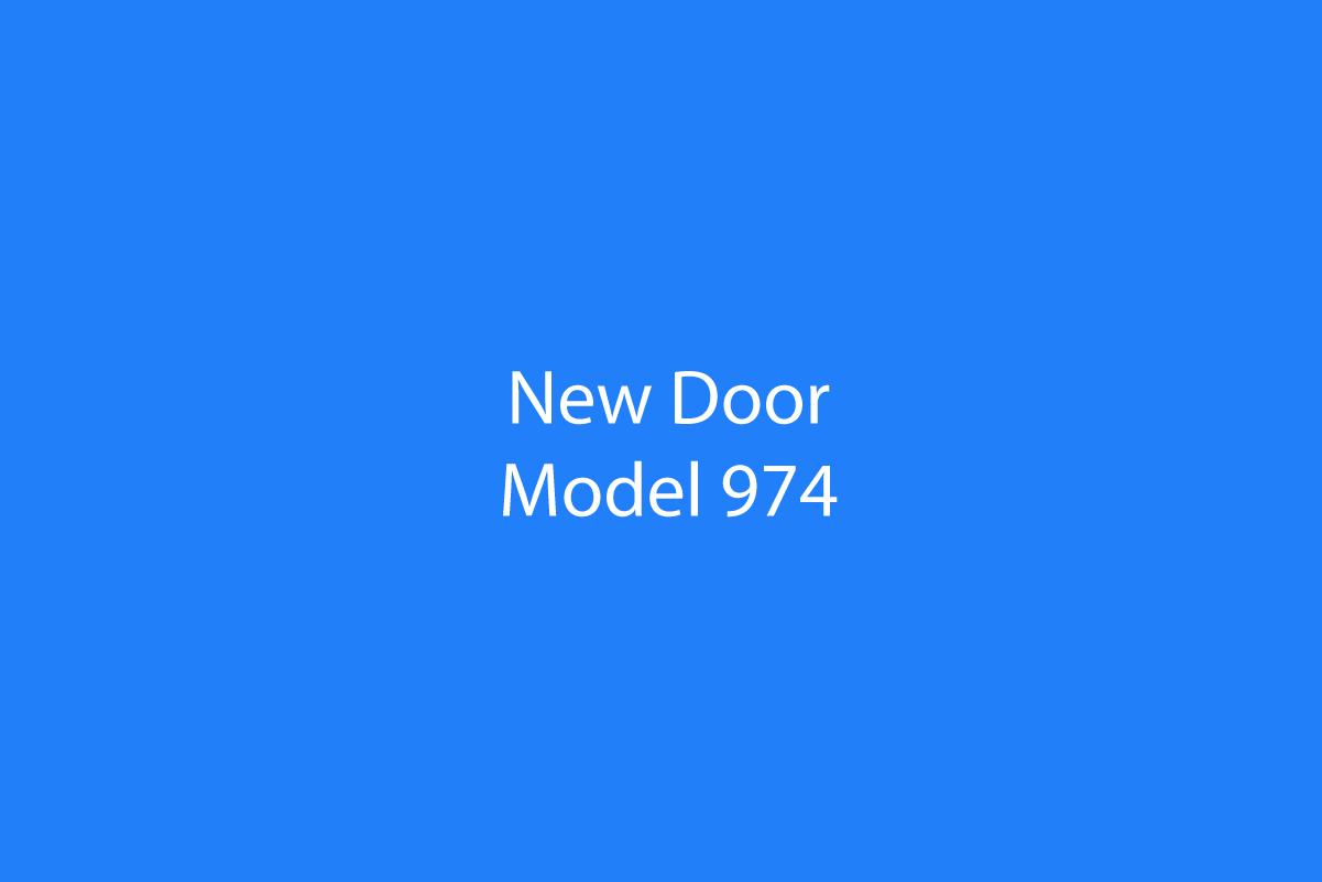Door Model 974
