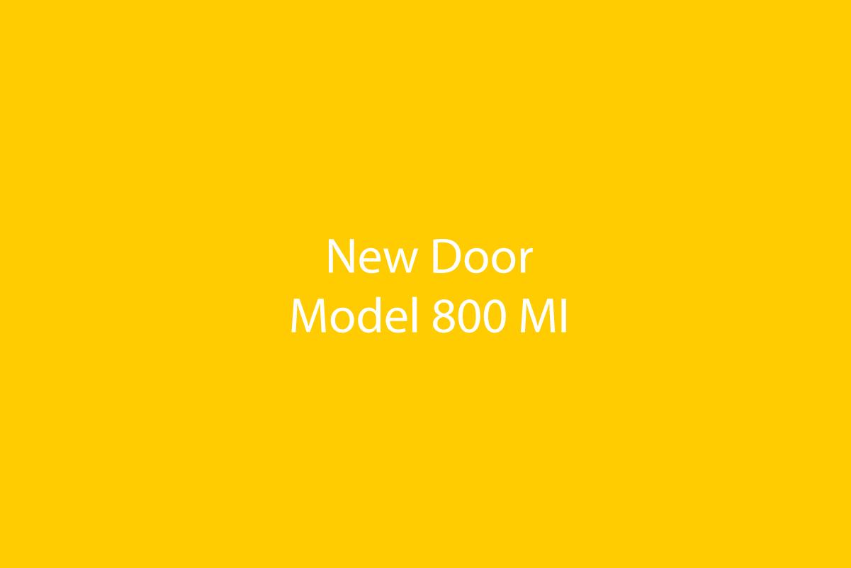 Door Model 800 MI